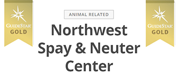 NW Spay and Neuter center Guide Star Gold badge