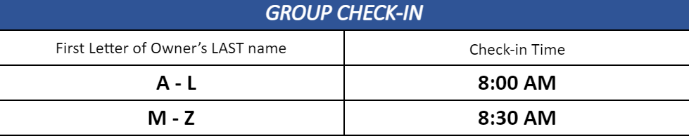 Group check in